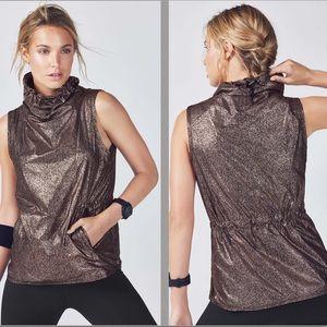 Fabletics Liora Metallic Pullover Vest
